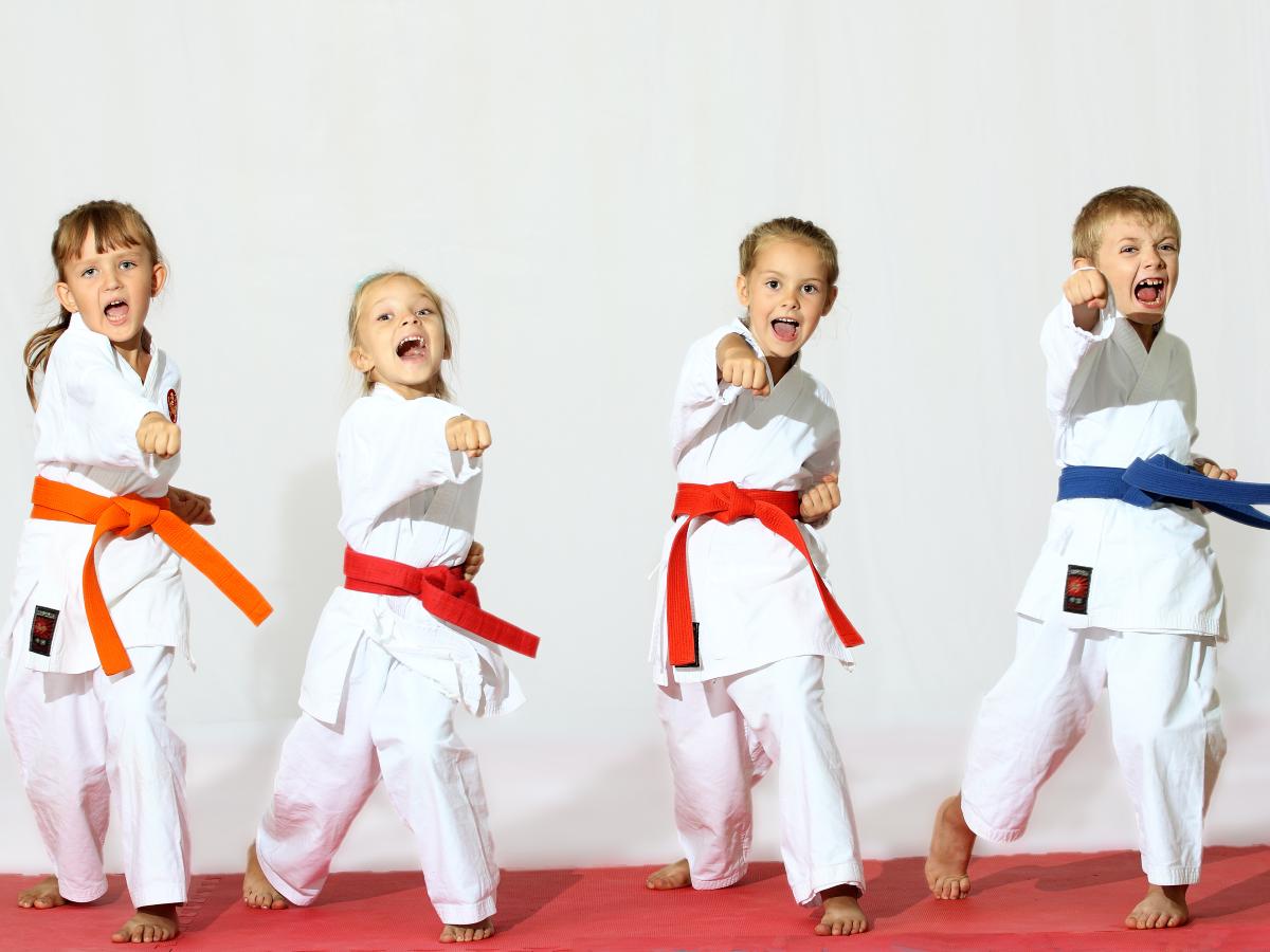 Во сколько лет отдать ребёнка в каратэ?